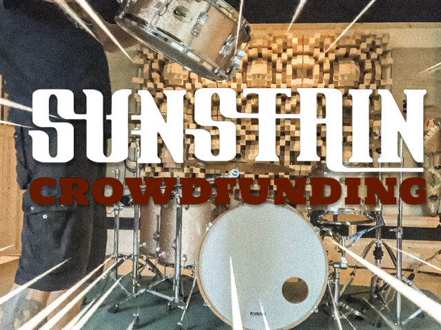 CROWDFUNDING – SUNSTAIN IS MAKING A RECORD (WITH YOUR HELP)